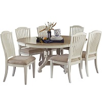 Best With Storage White Oval Dining Table Set For 6 Rundown