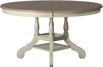 Best With Storage White Oval Dining Table Set For 6