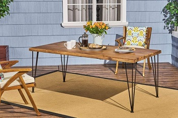 Best Wood 6 Foot Dining Table