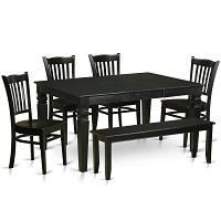 Best Wooden Black 6 Piece Dining Set Rundown