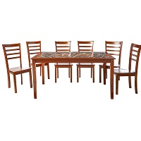 Best Wooden Faux Marble Dining Table With 6 Chairs Rundown