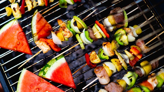 Healthy & Nutritious Snacks Ideal For Late Summer Days - Grilled Watermelon