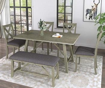 LUMISOL Kitchen Table Set