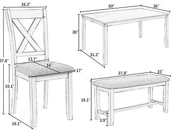 LZ Leisure Zone Table Set