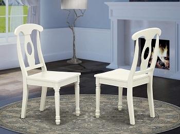 Linen White Color Dining Set
