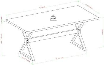 Walker Edison Harrold Table