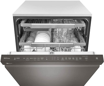 Best 3rd Rack Black Stainless Steel Dishwasher