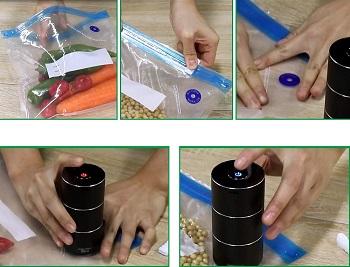 Best Automatic Handheld Food Vacuum Sealer