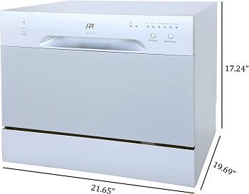 Best Silver Countertop Dishwasher