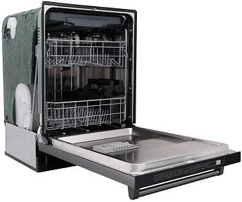 Best With 3rd Rack Black Dishwasher