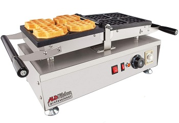 Best Commercial Waffle Iron With Removable Plates
