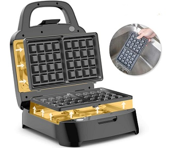 Best Home Waffle Maker With Removable Plates