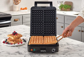 Best Square Waffle Maker With Removable Plates